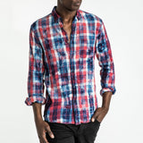 CR7 TYCO Shirt - Red Multi - front view