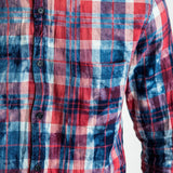 CR7 TYCO Shirt - Red Multi - pocket closeup
