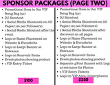 Sponsor Package - Cute Thick Pool Party September 8th