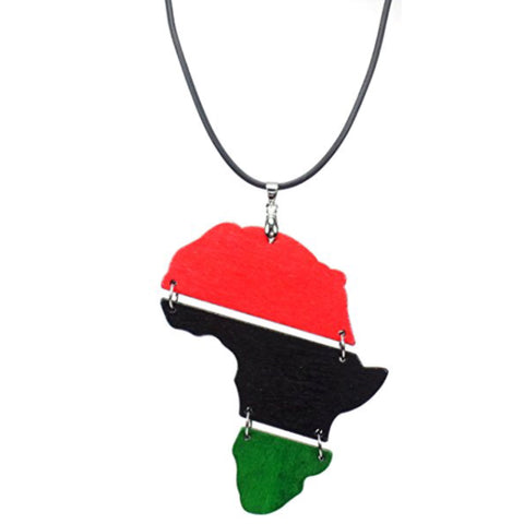 Pan African Color Necklace