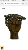 Black Power Necklace