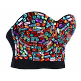 Bustier Top Plus Size - Colorful