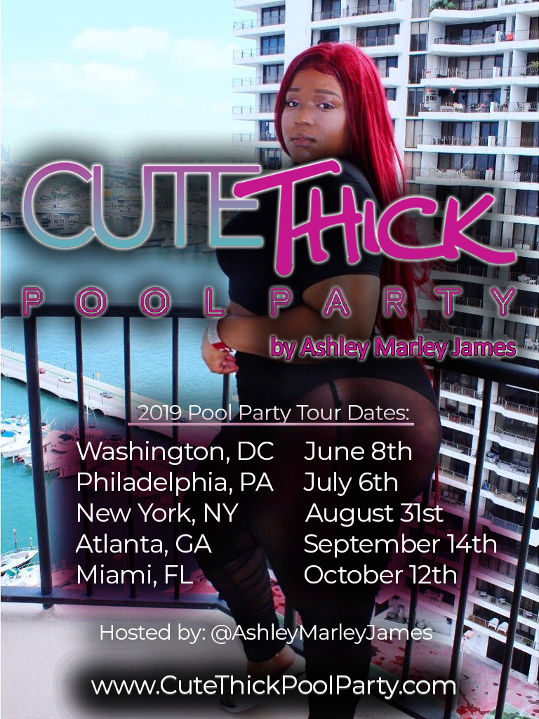 Vendor Fee - Cute Thick Pool Party Tour