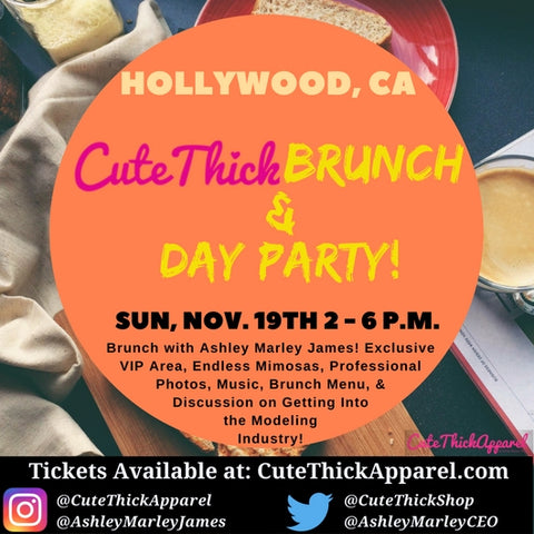 Los Angeles CuteThickBrunch & Day Party - Nov 19th 2-6pm