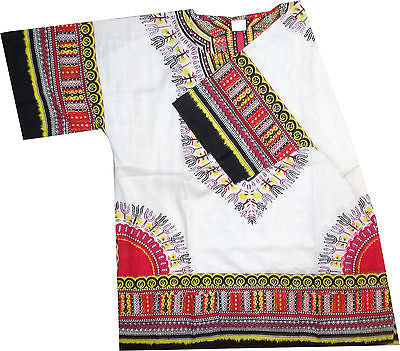 White Dashiki - One Size