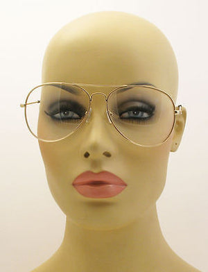 Clear Lens Aviator Personality Glasses