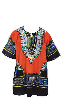 Dashiki Orange - One Size
