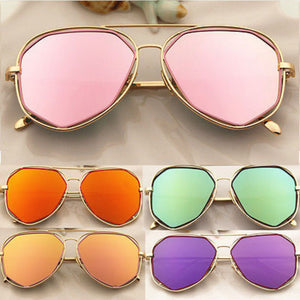 Malibu Gold Frame Sunglasses