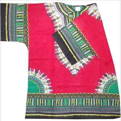 Red Dashiki - One Size