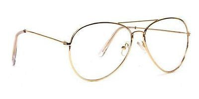 a37d4d5453c0a Clear Lens Aviator Personality Glasses – Cute Thick Apparel Boutique