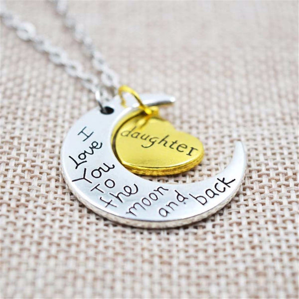 """To The Moon and Back"" Necklace - Offer"