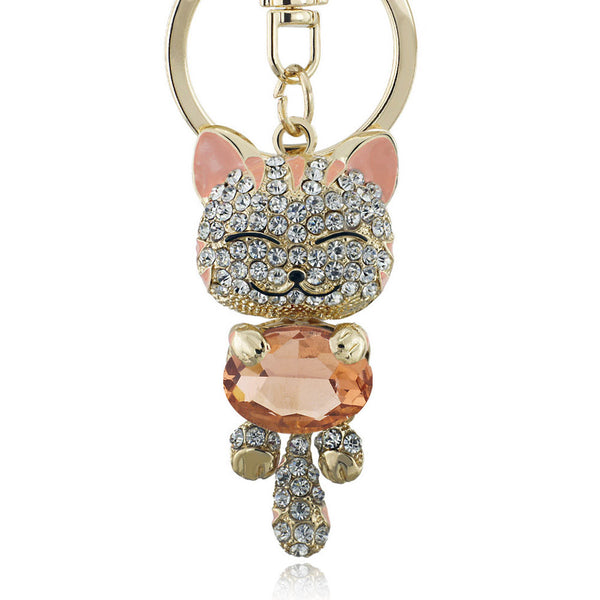 Smile Cat Keyring