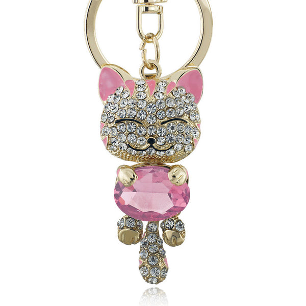 Smile Cat Keyring - Exclusive Deal
