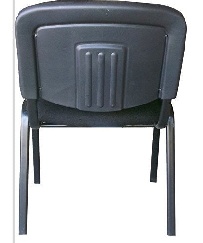 Black Modern Stacking Office Chairs In Comfortable Fabric Cloth   Suitable  For Offices, Training, Conferences, Churches, Community Centres And Home.