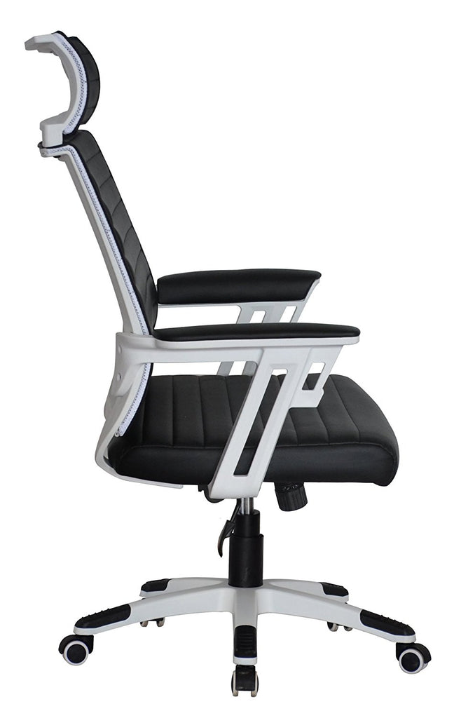 Admirable Executive Contemporary Office Chair With Attached Headrest Interior Design Ideas Gentotryabchikinfo