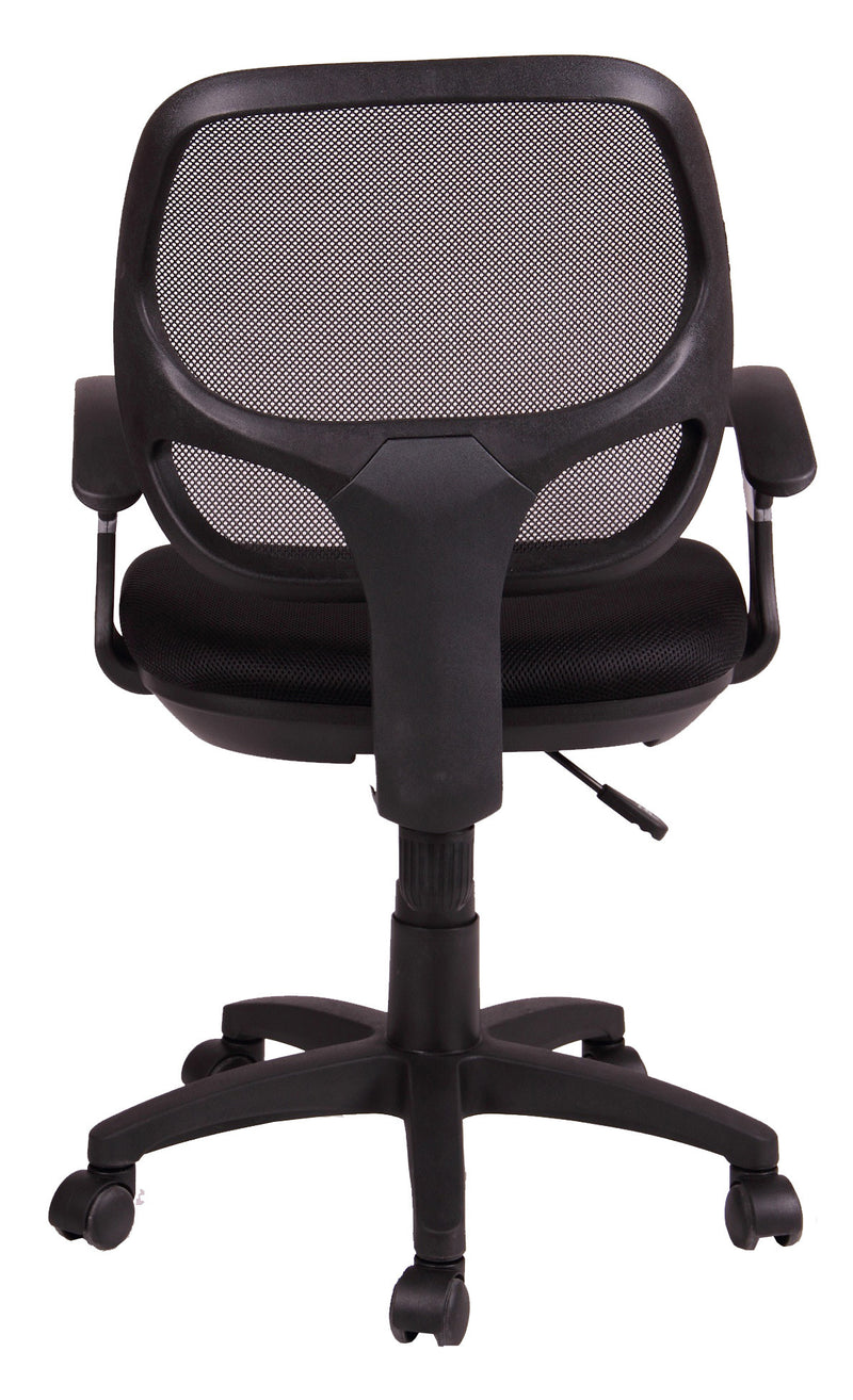 MESH MIDIUM BACK TASK CHAIR - back view