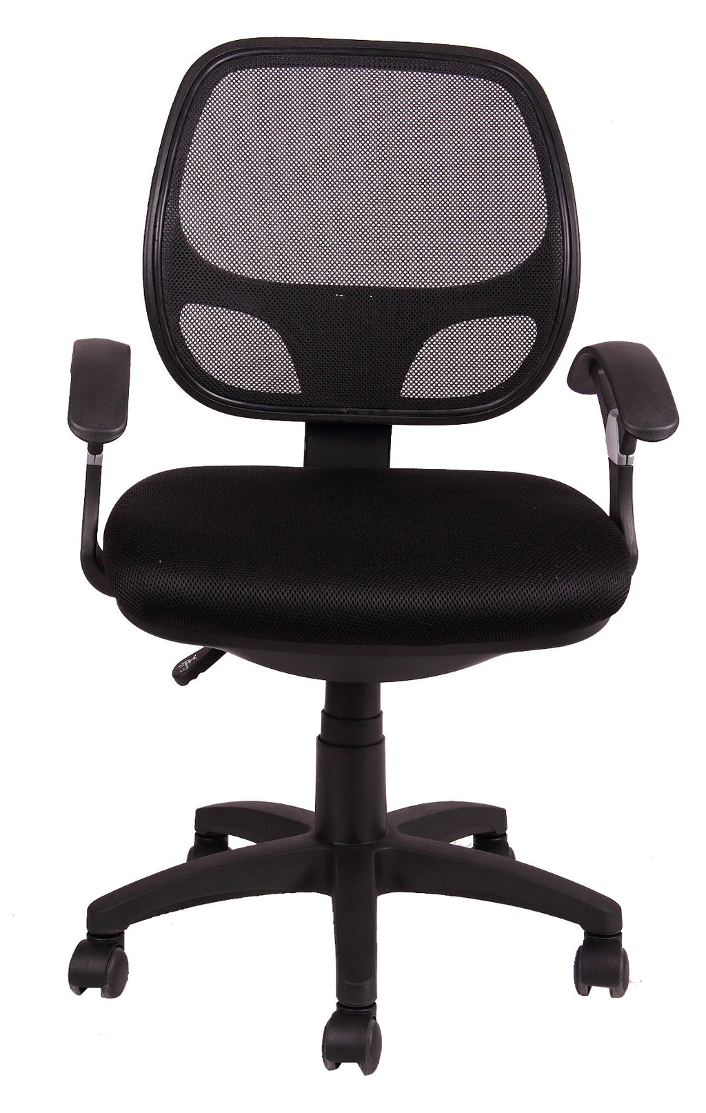 MESH MIDIUM BACK TASK CHAIR - front view