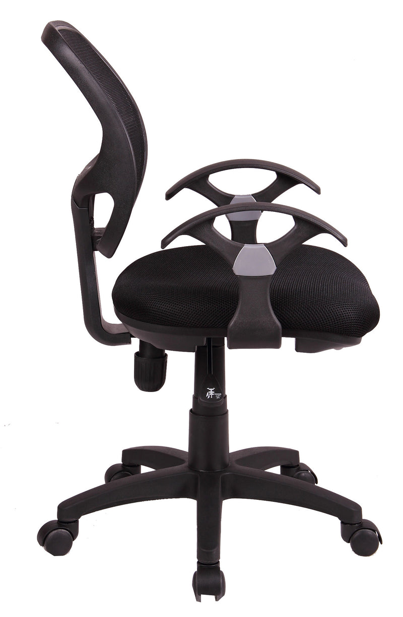 MESH MIDIUM BACK TASK CHAIR - side view