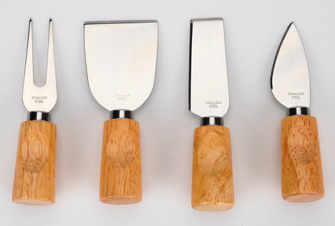 4 Piece Cheese Tool Set - US Office Elements