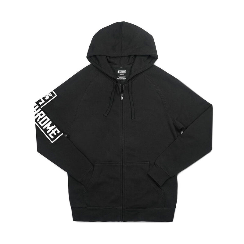 Chrome Industries : Flying Lion Zip Hoodie : Black
