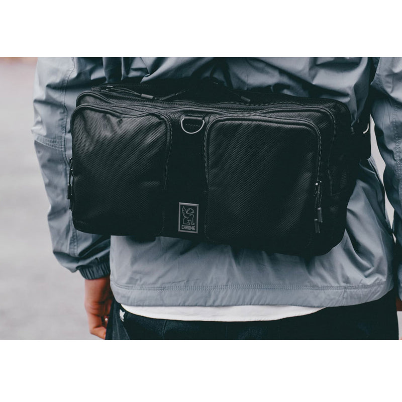 Chrome Industries : MXD Segment Sling Bag : Black Ballistic