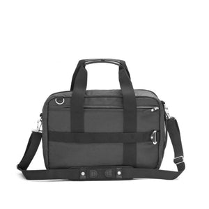 Qwstion : Office Bag : Organic Jet Black