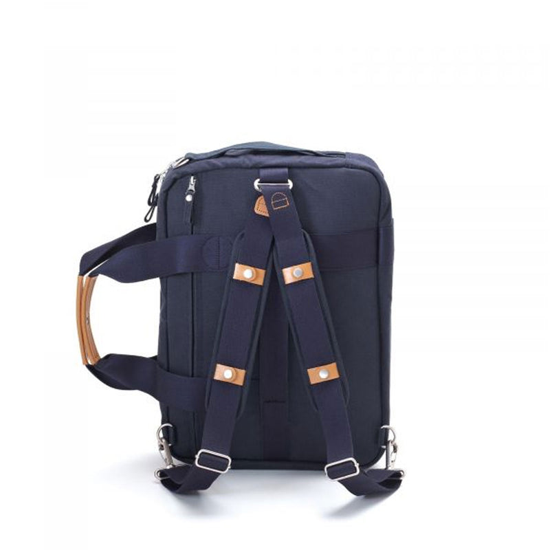 Qwstion : Office Bag : Organic Navy
