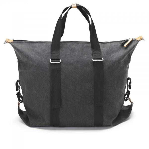 Qwstion : Simple Holdall : Washed Black