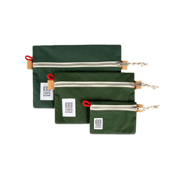 Topo Designs : Accessory Bags : Forest Canvas