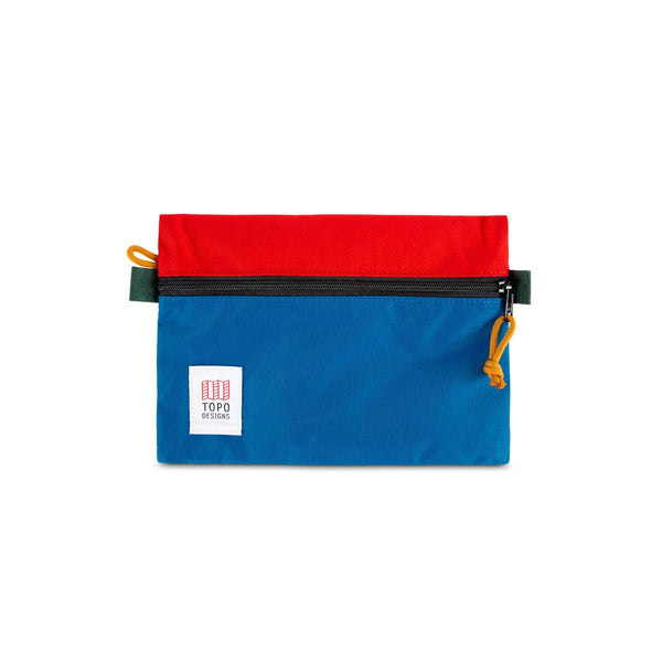 Topo Designs : Accessory Bags : Blue/Red
