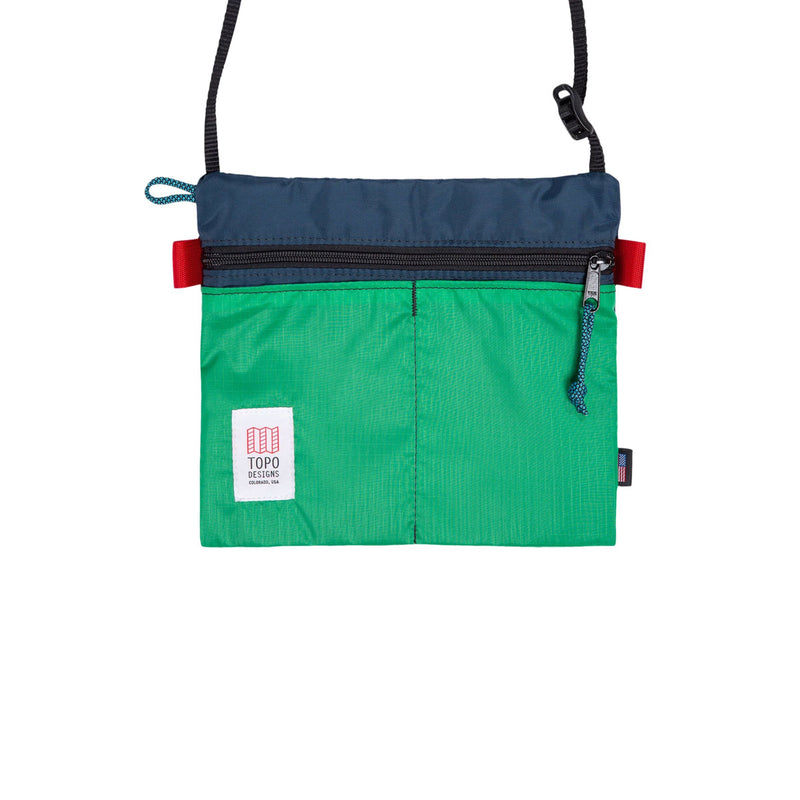 Topo Designs : Accessory Shoulder Bag : Navy/Kelly