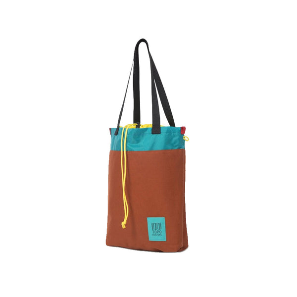 Topo Designs : Cinch Tote : Olive/Clay