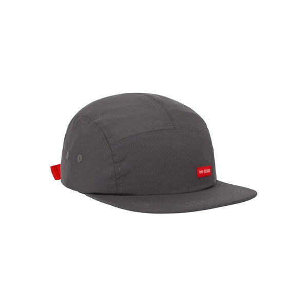 Topo Designs : 5 Panel Nylon Camp Hat : Charcoal