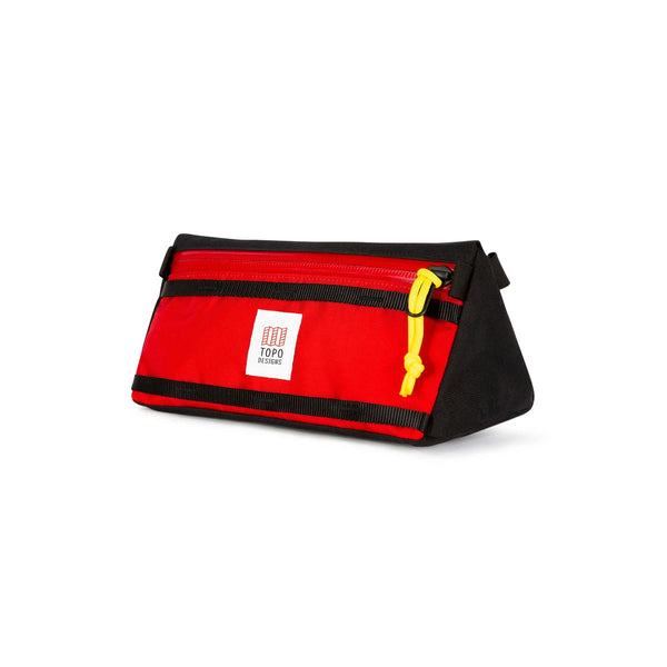 Topo Designs : Bike Bag : Red/Black