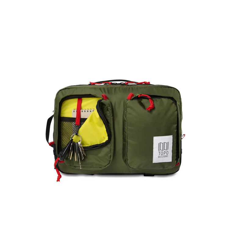 Topo Designs : Global Briefcase : Olive
