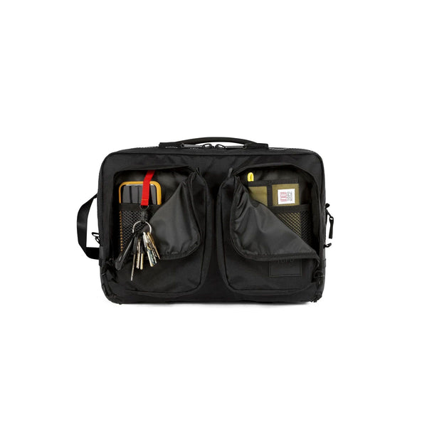 Topo Designs : Global Briefcase : Premium Black