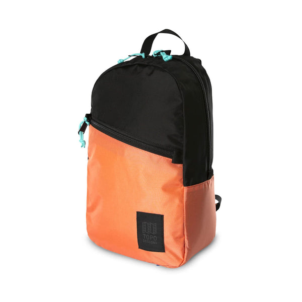 Topo Designs : Light Pack : Black/Coral