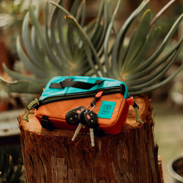 Topo Designs : Mini Quick Pack : Clay/Turquoise