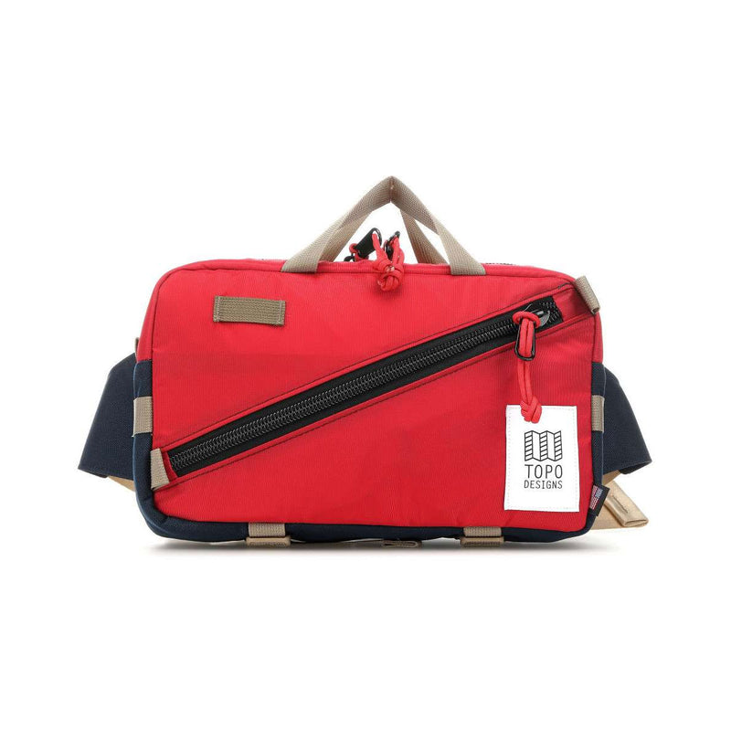 Topo Designs : Quick Pack : Red/Navy