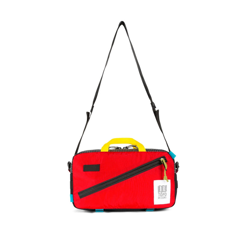 Topo Designs : Quick Pack : Red/Black Ripstop