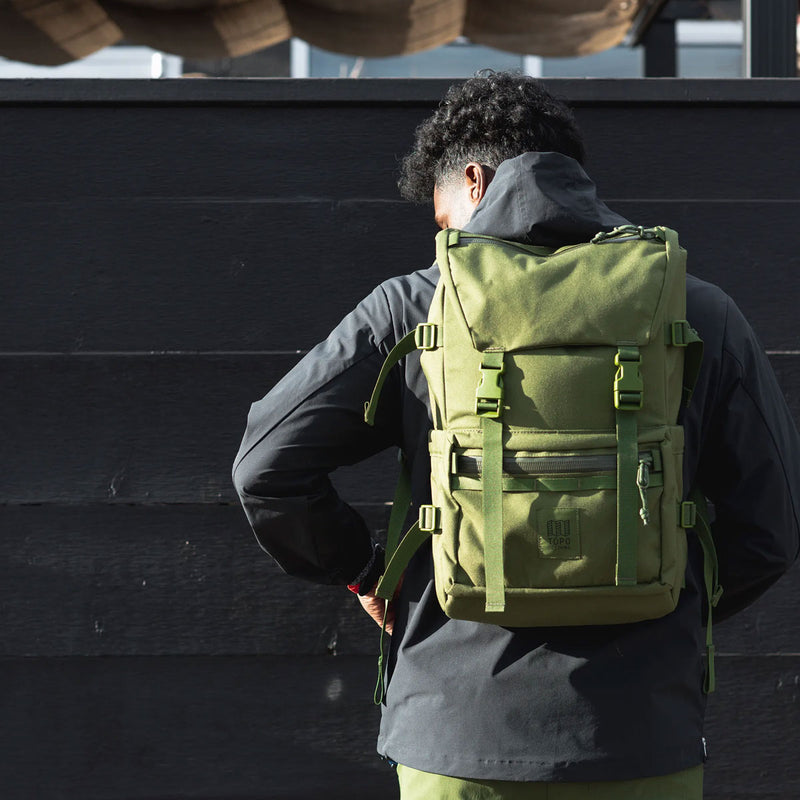 Topo Designs : Rover Pack Tech : Black