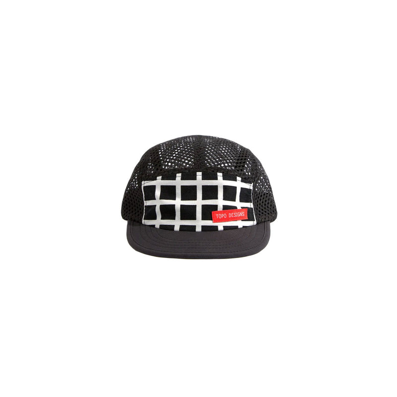 Topo Designs : Sport Hat : Black Grid