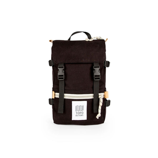 Topo Designs : Rover Pack Mini : Black Canvas