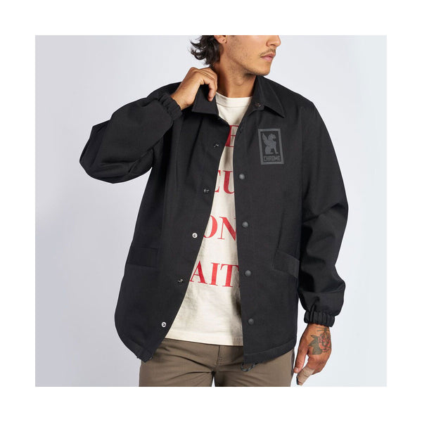 Chrome Industries : Masonic Coaches Jacket : Black