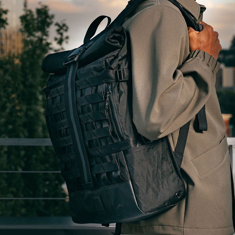 Chrome Industries : Barrage Cargo Backpack : Olive Tarp