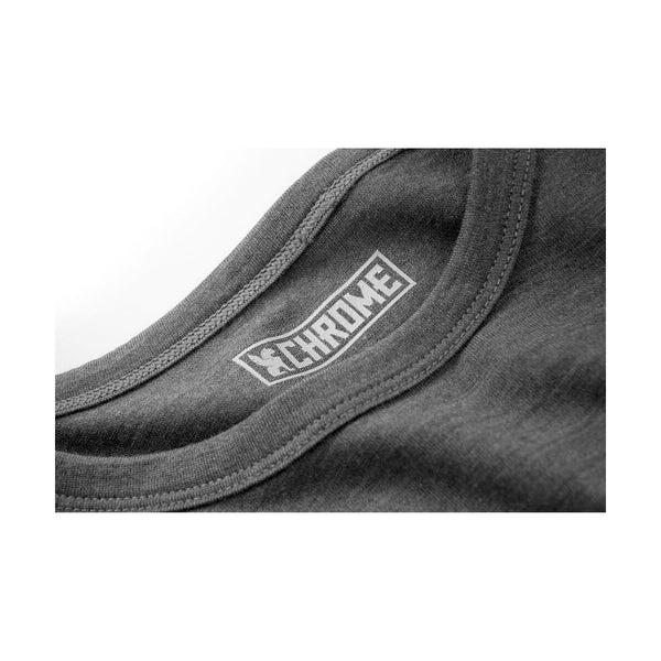 Chrome Industries : Merino Short Sleeve Tee : Charcoal