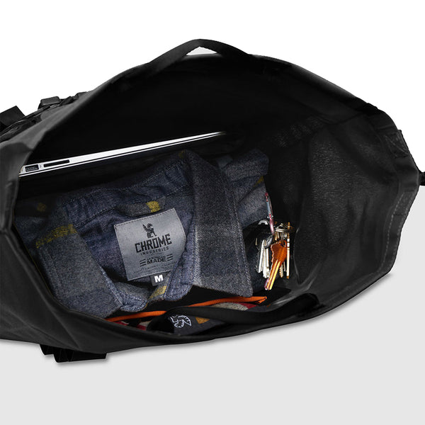 Chrome Industries : Urban Ex Rolltop 28L Backpack : Black