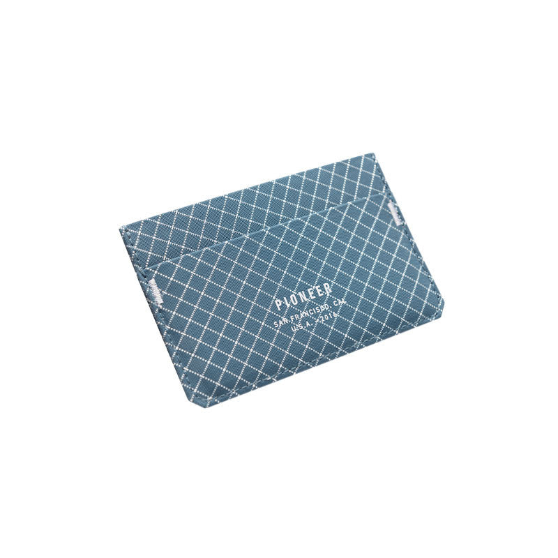 Pioneer : Molecule Card Wallet : Blue