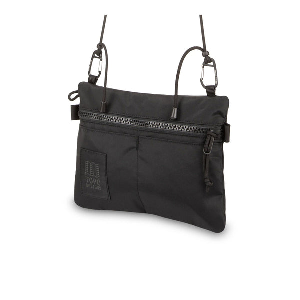 Topo Designs : Carabiner Shoulder Accessory Bag : Black