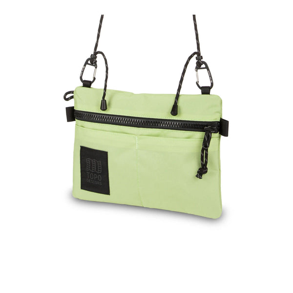 Topo Designs : Carabiner Shoulder Accessory Bag : Light Green